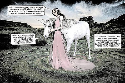 Unicorn Comic Illustration1 by Solomon Barroa
