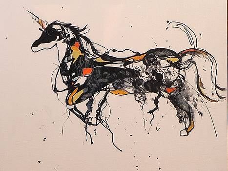 Unicorn by Ilona Petzer
