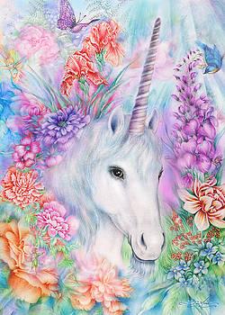 Unicorn in the mist by Joan Marie