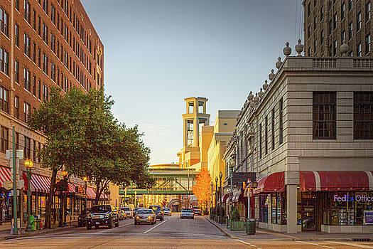Union and Third - Memphis Street Scene by Barry Jones