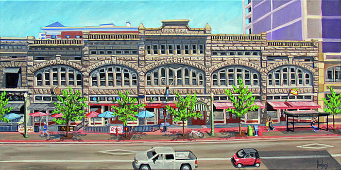 Union Block Building - Boise by Kevin Hughes