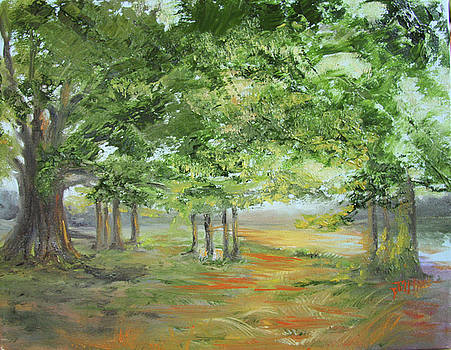 Union Camp Road by Jill Holt