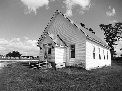 Union Church_BW by Nola Hintzel