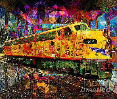 Union Pacific 942 by Robert Ball