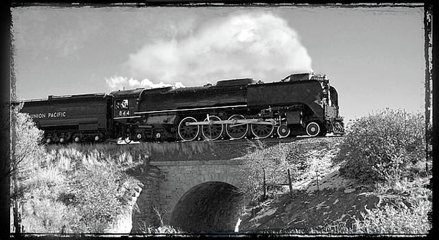 Union Pacific Number 844 by Larry McManus