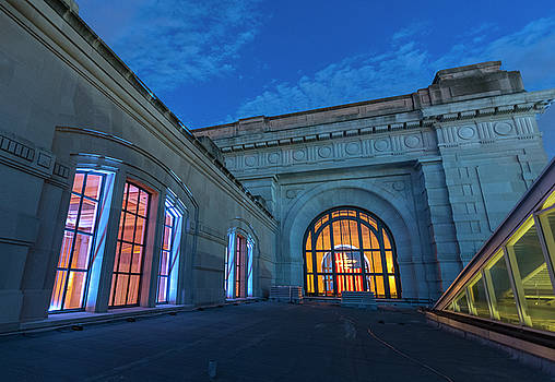 Union Station Kansas City from Midway roof by Roy Inman