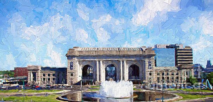 Andee Design - Union Station Kansas City Painterly