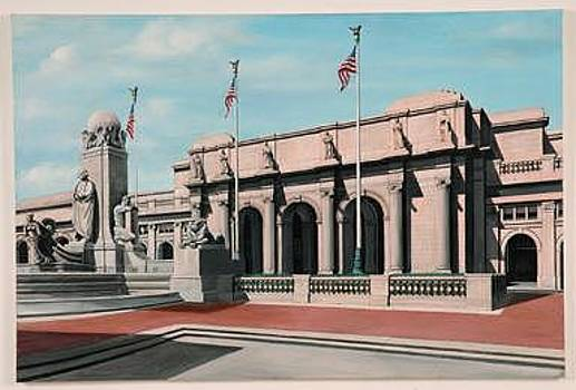 Union Station Washington Dc by Joseph Greenawalt