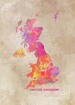 Justyna Jaszke JBJart - United Kingdom map
