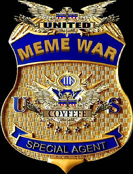 United Meme War Special Agent by Rick Elam