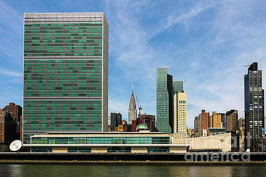 United Nations Skyline by Thomas Marchessault