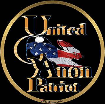 United Q Anon Patriot by Rick Elam