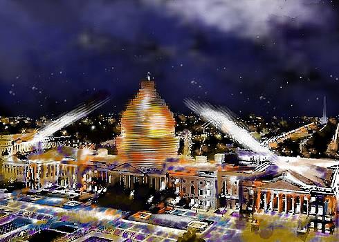 United States Capitol by Carol Tsiatsios