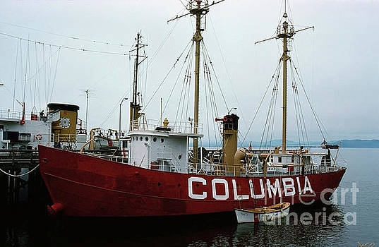 California Views Mr Pat Hathaway Archives - United States lightship Columbia WLV-604  1976