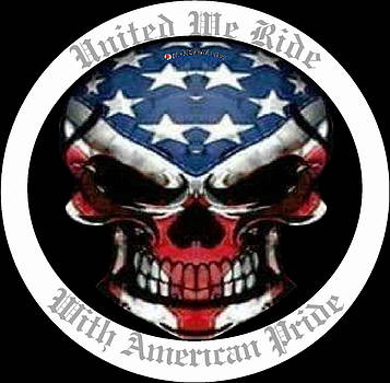 United We Ride With American Pride 2 by Rick Elam