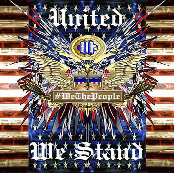 United We The People Stand by Rick Elam
