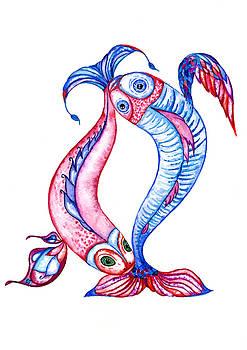 Unity of opposites. Perfect couple by Kseniya Lisitsyna