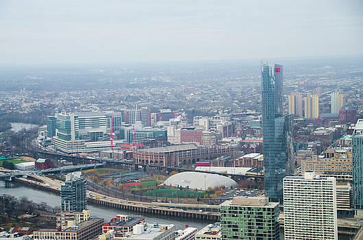 University City and Franklin Field - Philadelphia by Bill Cannon