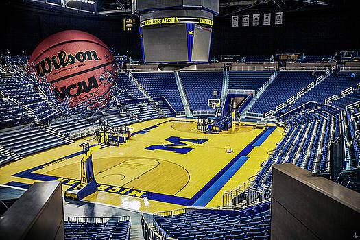 University of Michigan Basketball by Nicholas Grunas