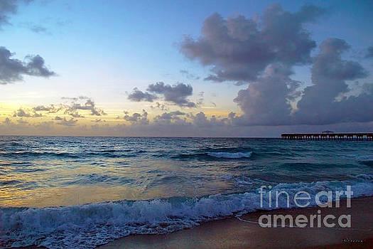 Ricardos Creations - Juno Beach Pier Florida Sunrise Seascape C9