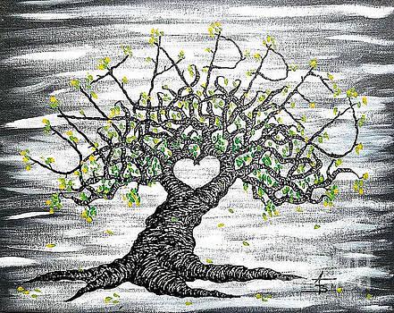 Untapped Love Tree by Aaron Bombalicki