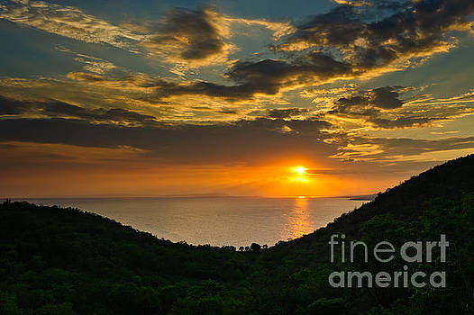 Untitled 3 - Jamaican Sunset by Marc Evans