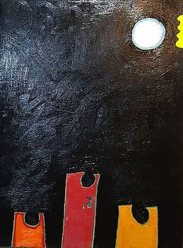 Reflection 34 x 48 2016 Oil on canvas by Radoslaw Zipper