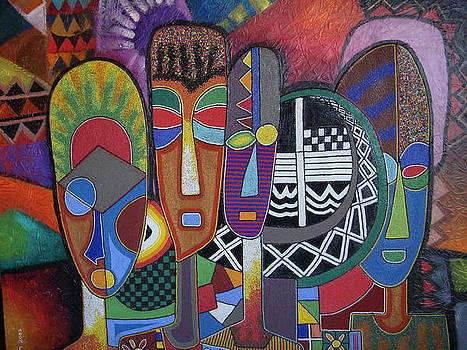 Untitled by Jimoh Buraimoh