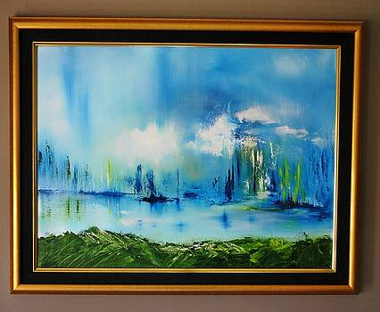 Untitled Landscape MC by Larry Ney  II
