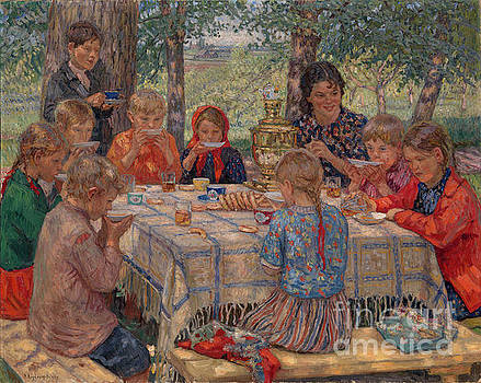 Nikolay Petrovich-Belsky - Untitled