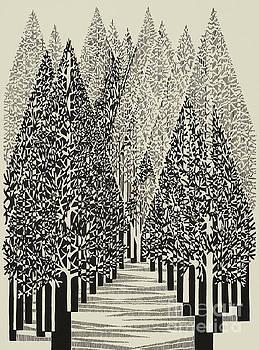 Untitled   Trees by Manuel Bennett