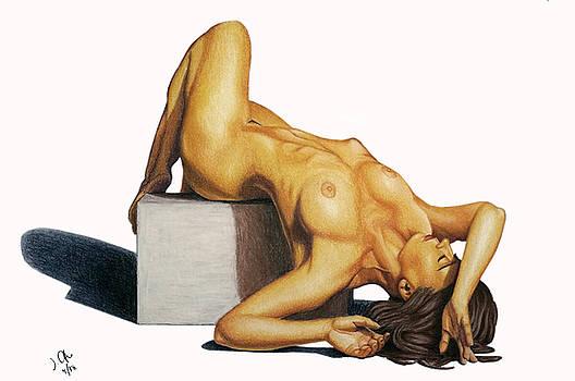 Joseph Ogle - Untitled nude