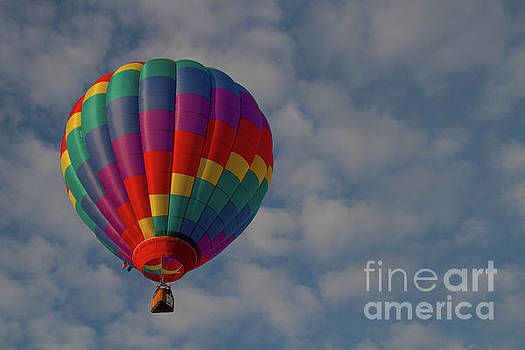 Up and away by Diana McPherson