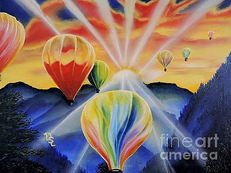 Up and Away by Dianna Lewis