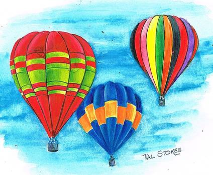 Up and away by Val Stokes