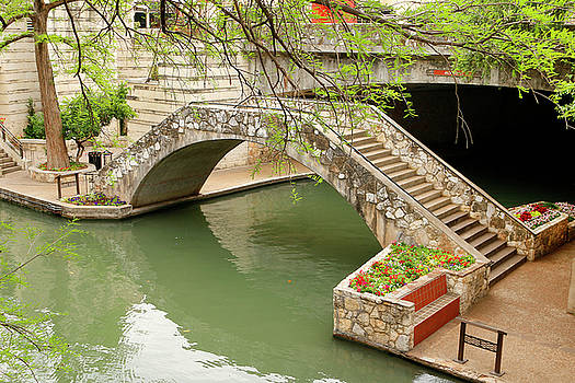 Art Block Collections - Up and Over - San Antonio River Walk