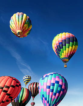 Up in a Hot Air Balloon 2 by James Sage