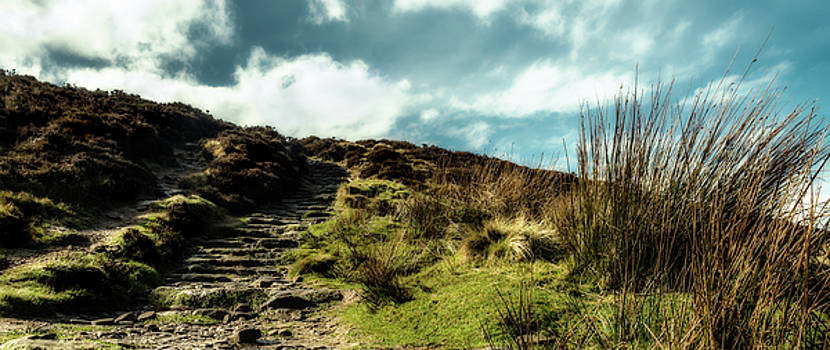 Up on Win Hill by Nick Bywater