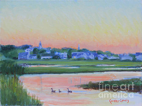 Up the Creek Sunset by Candace Lovely