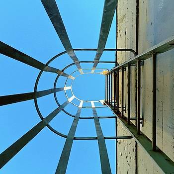 Up The Ladder  by Julie Gebhardt