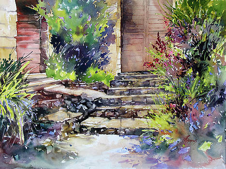 Up The Stairs To The Left by Rae Andrews