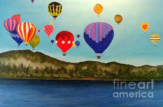 UP UP We Go by Peggy Miller
