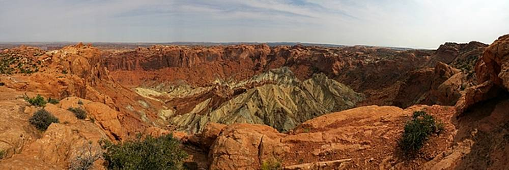 Upheaval Dome panorama by James Scotti