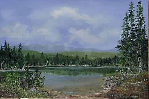 Upland Lake by Ken Ahlering