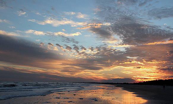 Uplifting Sunset by Rosanne Jordan