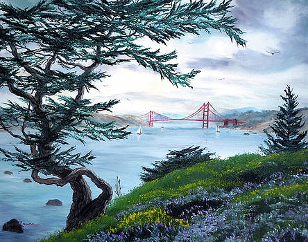 Laura Iverson - Upon Seeing the Golden Gate