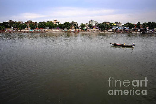 Upon the Ganges by Floyd Menezes