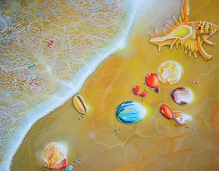 Upon the Shores of Heaven by Leonard Aitken