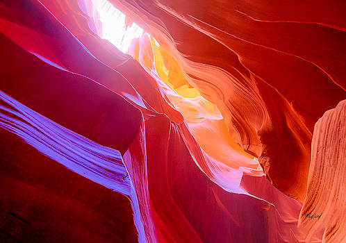Upper Antelope Canyon 1 by Fred J Lord