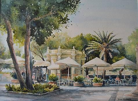 Upper Barrakka garden by Diane Agius